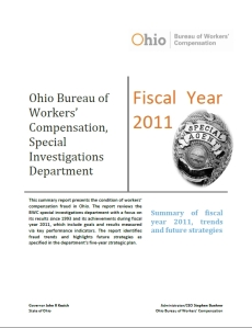 FY11 Annual Report Cover