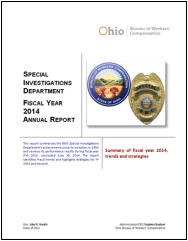 SID annual report FY 2014